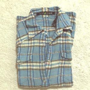 DKNY check shirt